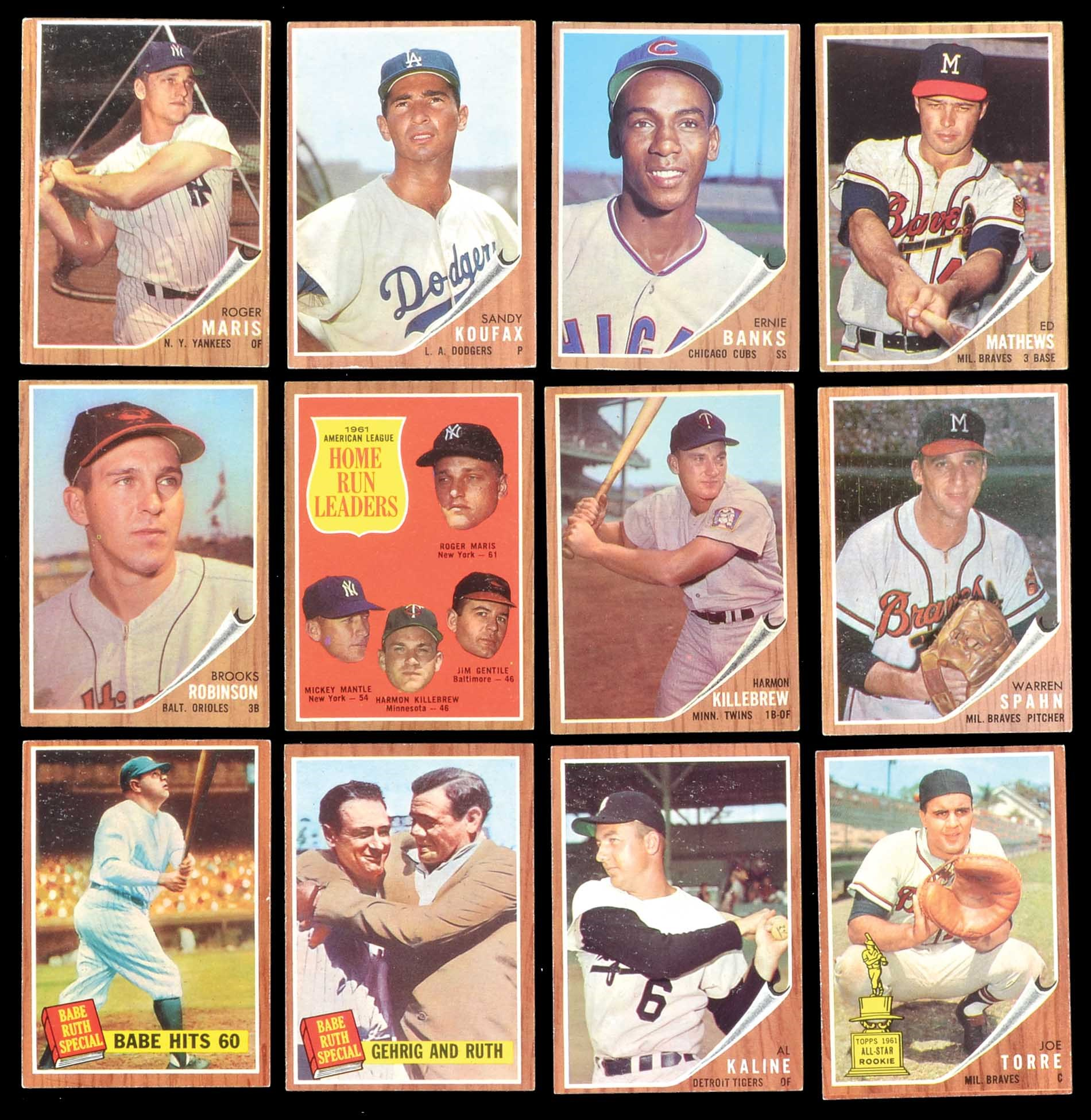 Lot # 1371: 1962 Topps Near-Complete Master Set (598 Cards Plus
