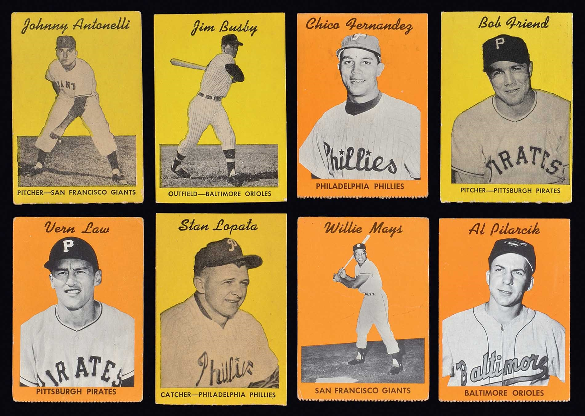 Lot 1248 1958 Hires Root Beer Test Complete Set Without