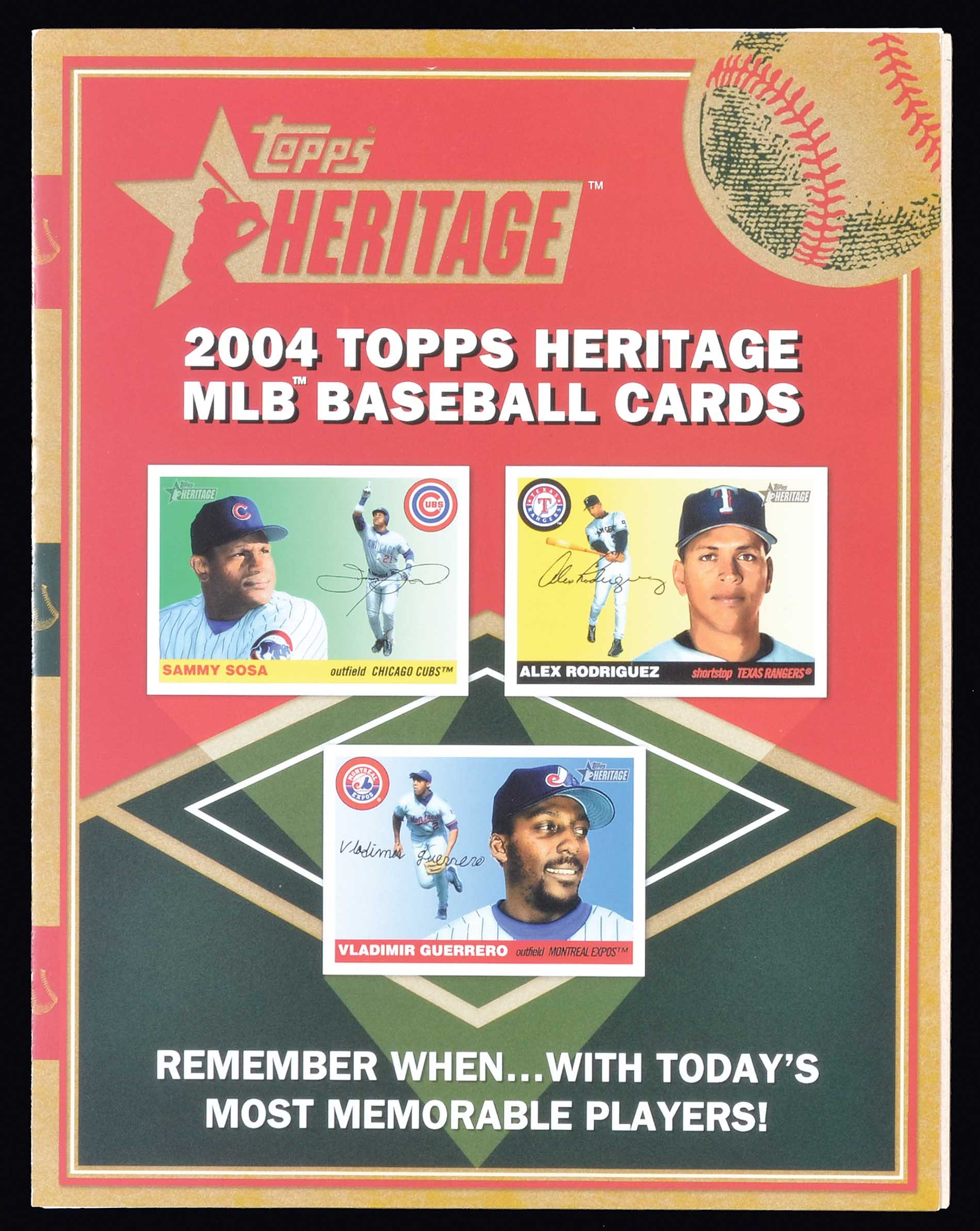 Lot 1479 2004 Topps Heritage Near Complete Master Set