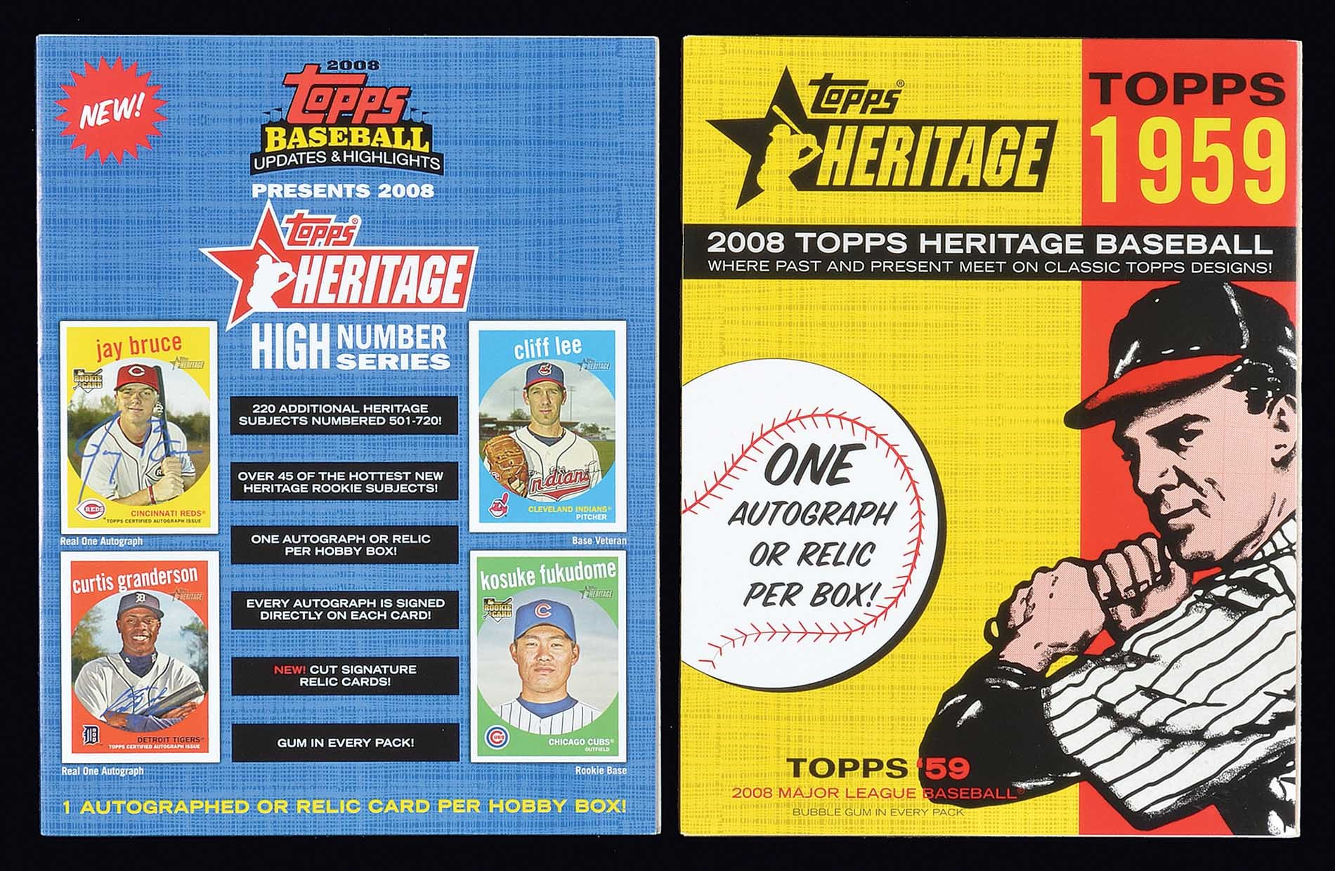 Lot 1483 2008 Topps Heritage Near Complete Master Set